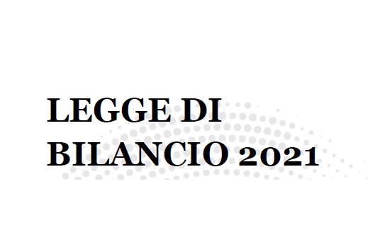 LeggeBilancio2021 commento Finco